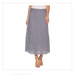 Nic+Zoe Fluid Knit Skirt in Moonlight.